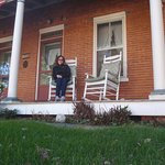 I loved to sit out on the rocking chair