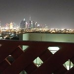 Downtown Dubai View from the terrace/pool