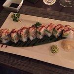 Red dragon roll !!! Eccezzionale !