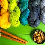 Beautiful Hand Dyed Merino Yarns