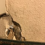 Hole in the wall in our room
