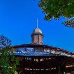 Martha's Vineyard Campground Tabernacle, at Wesleyan Grove, Oak Bluffs...