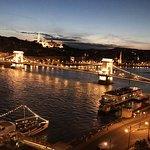Panoramic view of the Danube River...