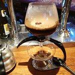 Variedad en cafeteras, muy rico el café