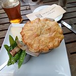 Burghley meat pie!