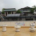屋上の展示物