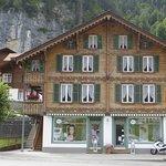 Berner Oberländerhaus in Lauterbrunnen