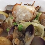 Ling Cod and Clams makes you feel warm inside