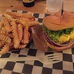 Fries and burger at Al's.
