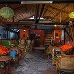 Lobby, Restaurant and room