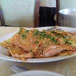 Ravioli ripieni di 🍆melanzana, con pomodoro e gamberi 🍤