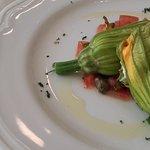 Fiori di zucchine con robiola...freschi e leggeri
