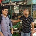 Mumbai market tour with Sachin
