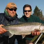 AK Troutfitters Lodge and Fishing is the best on the Kenai River.