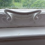 Detail from one of the lovely sash windows...