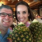 Everyone should drink from a pineapple! :)