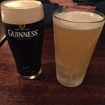 Hubby got the Guiness I got the Alligash white