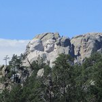View Of Mt. Rushmore From Outside Of Hotel