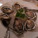 Lachs, Seafood Platte und Austern