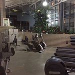 Work out room, no free weights