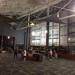 Indoor atrium space