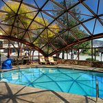 Glass Dome and Pool