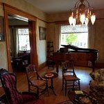 Piano available for playing