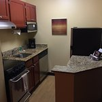 Kitchen at Towne House Suites