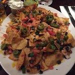 Little beer after drinking steins at Oktoberfest, nachos definitely to share & Texan burger!
