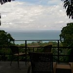 View from the deck of Bungalow 2