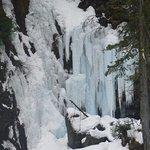 Waterfall is pretty dormant in winter, for obvious reasons...tsk, tsk.