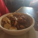 Gumbo and oyster Po boy sandwich - very good!