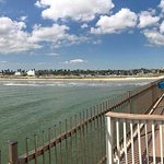 Galveston Island Historic Pleasure Pier Foto