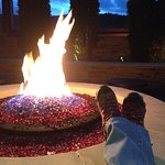 rooftop deck - 1 of two firepits