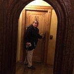 Hallway and door to room #11