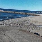 beach area at shore