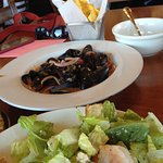 The mussels with chorizo were the highlight!