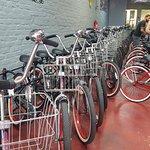 the bikes