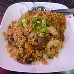 Nasi Goreng - overcooked