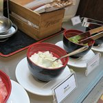'Build your own' miso soup bowls at Hector's Restaurant!