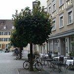 Das Hotel liegt mitten in der Altstadt von Winterthur.