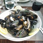 The mussels! Absolutely delicious!