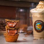 lotus frappuccino with nutella cookies