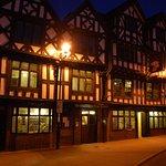 The Tavern at night.