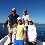 Red Fish - our surprise of the day. Sarasota Bay with Reelin' & Chillin'