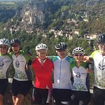 Our cycling at Rocamadour..