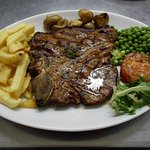 t,bone steak.