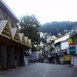 Shimla Mall road early morning