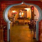 Archway to the lounge...