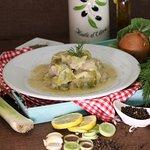 Lachanodolmades (Greek Food)